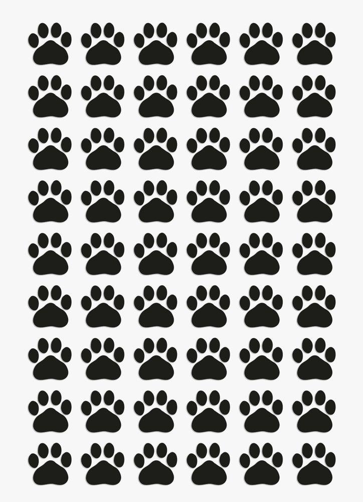 Dog tracks decor