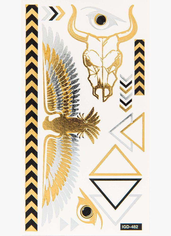 Tatueringar silver guld