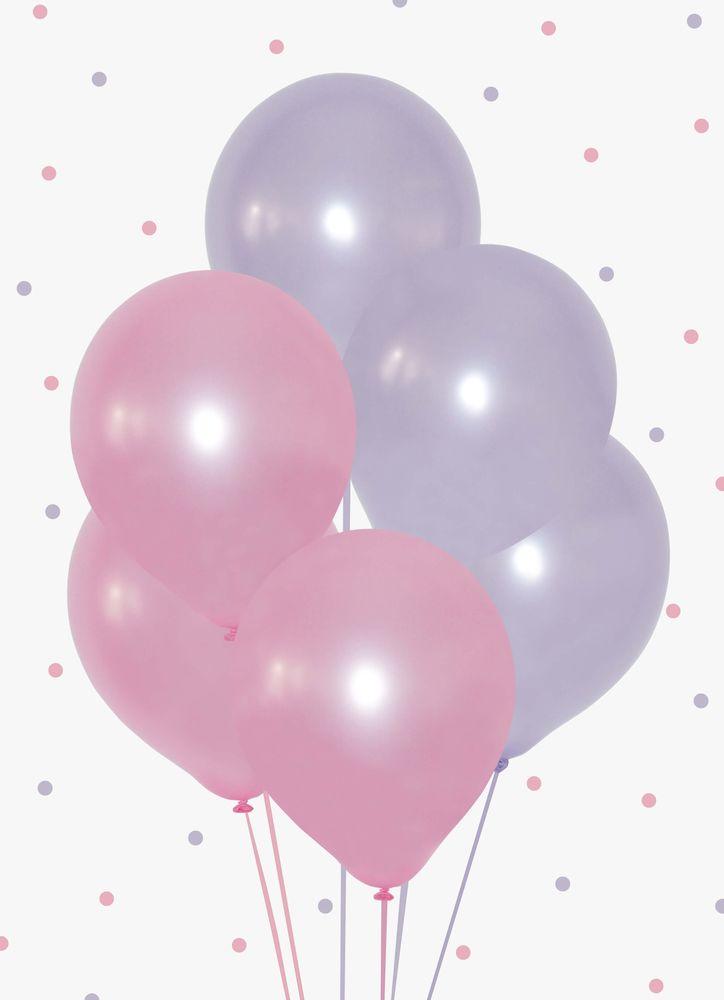 Ballonger rosa/lila