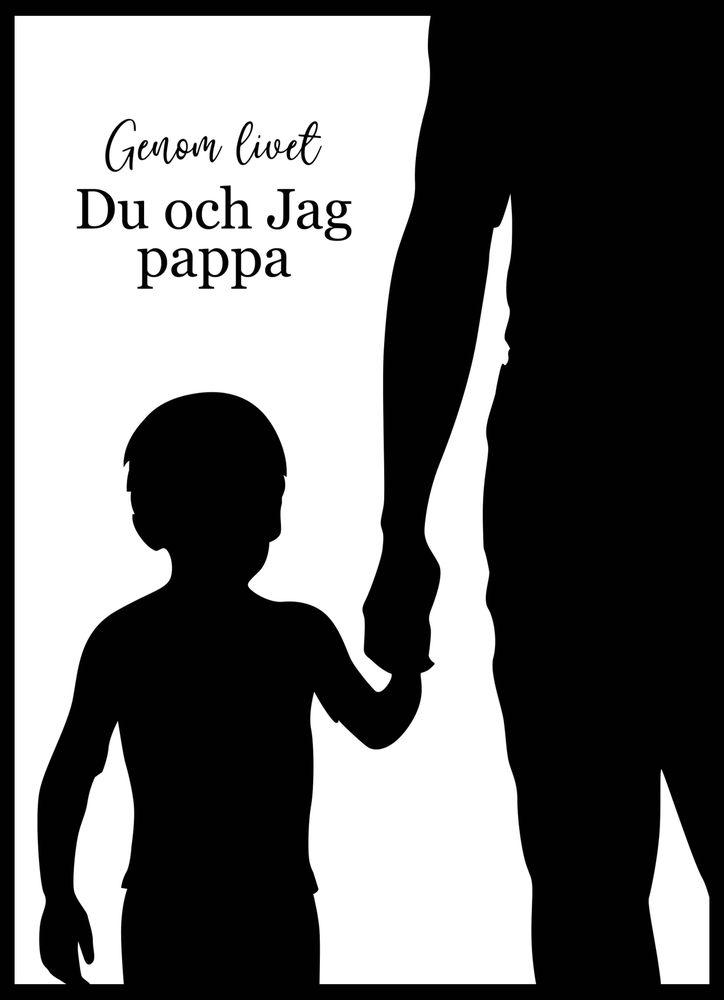 Du och jag pappa poster