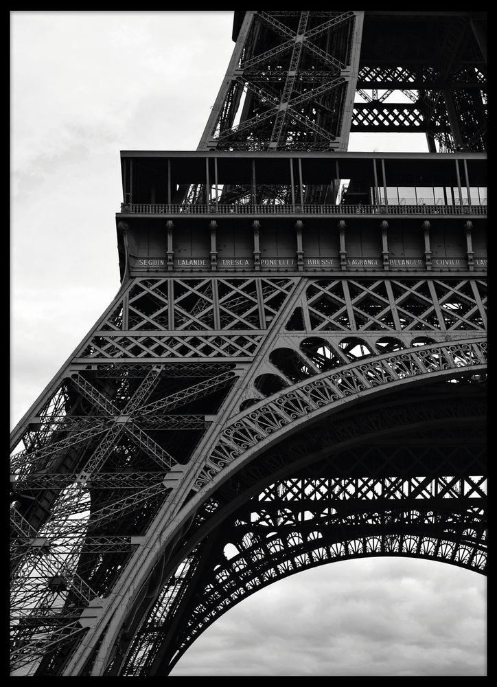 Eiffeltornet närbild poster