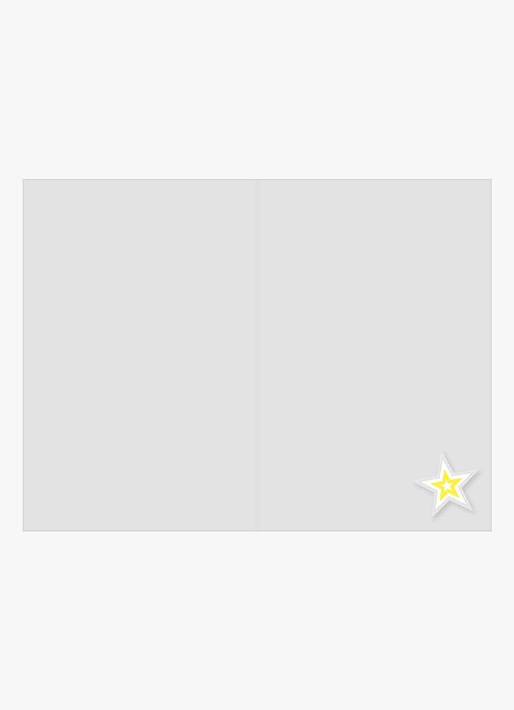 Stjärna i sammet kort
