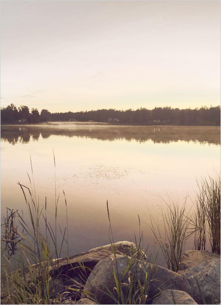 Solnedgång Söderhamn poster
