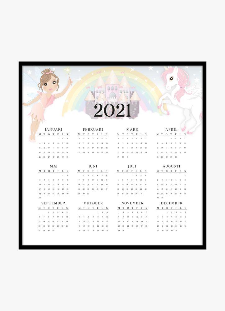 Älvor kalender poster