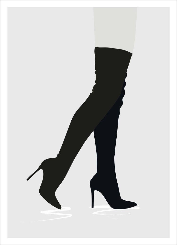 Fashion stövlar poster