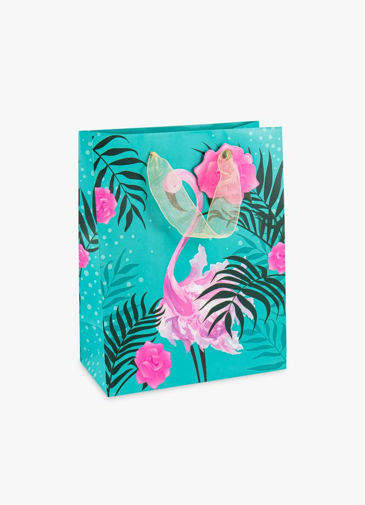 Flamingo presentpåse M