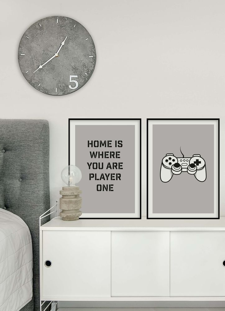 Player one poster