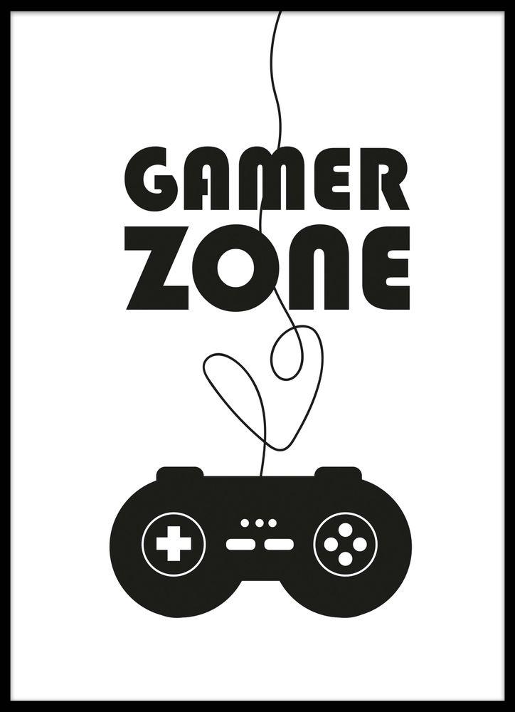 Gamer zone poster