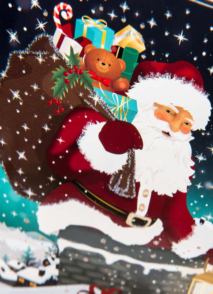 Gnistrande jultome julkort