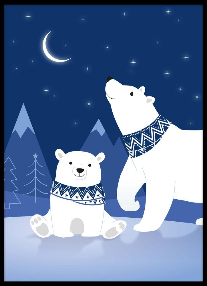 Björnar natt poster