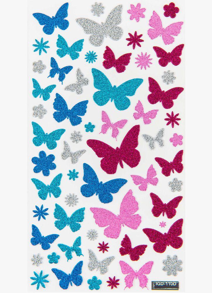 Fjäril klistermärken