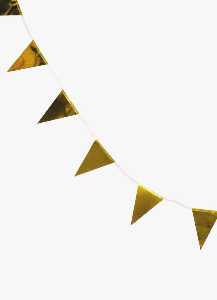 Vimpelgirlang guld