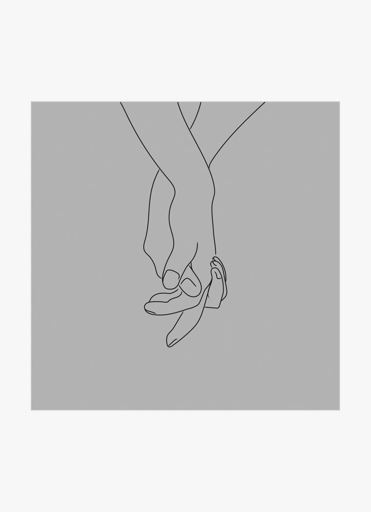 Hands grey