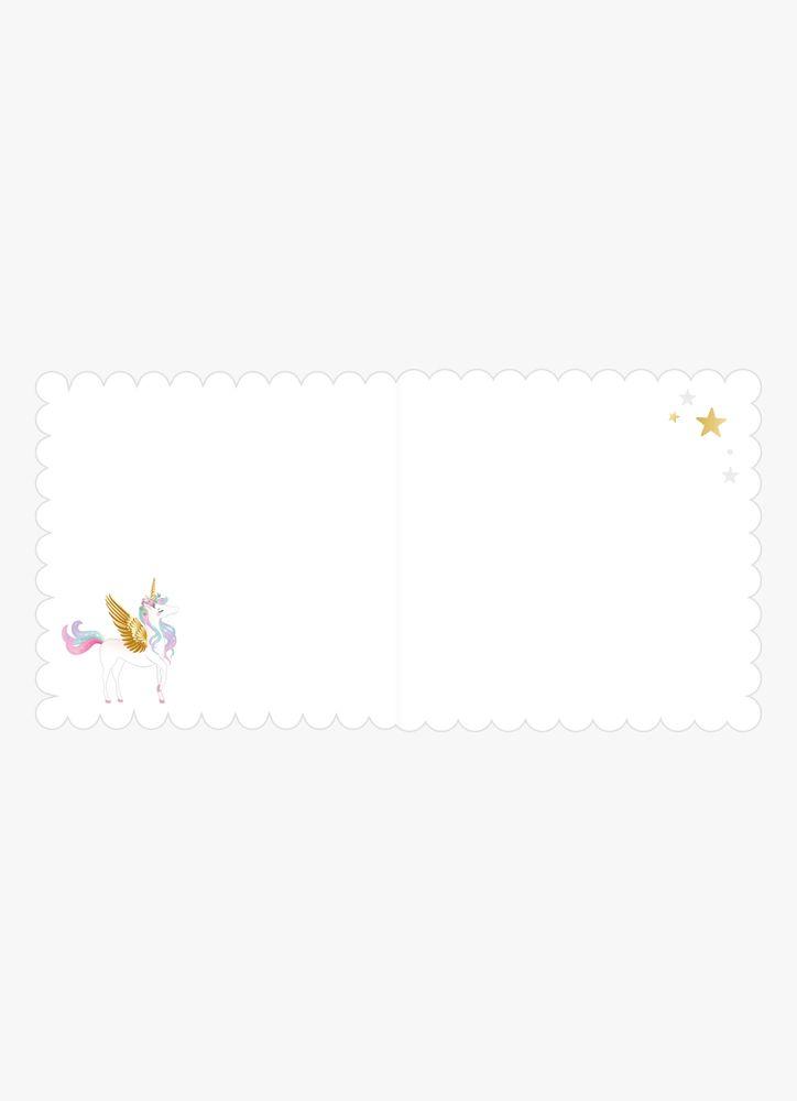 Enhörning gratulationskort