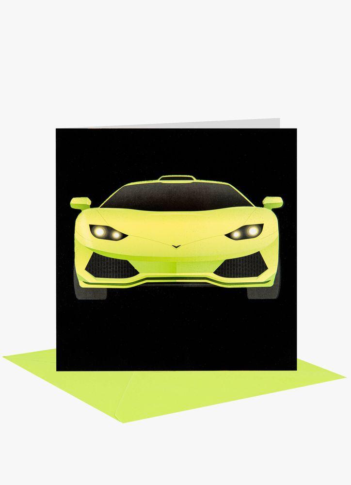 Lime bil kort