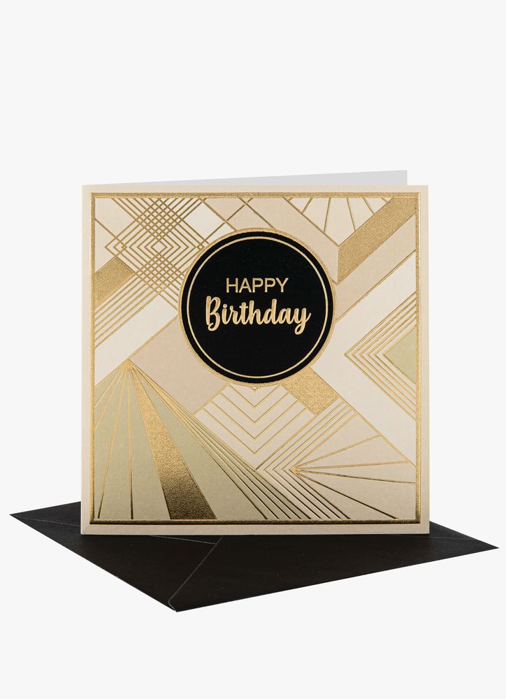 Lyx Happy B-day gratulationskort