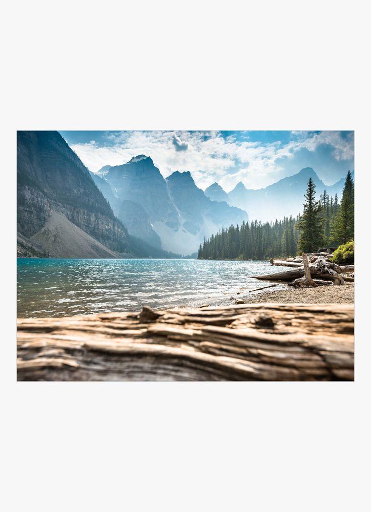 Moraine lake banff poster