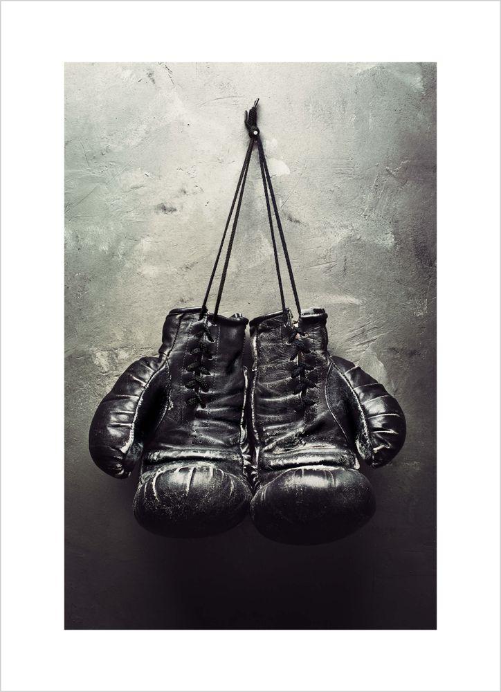Boxningshandskar poster