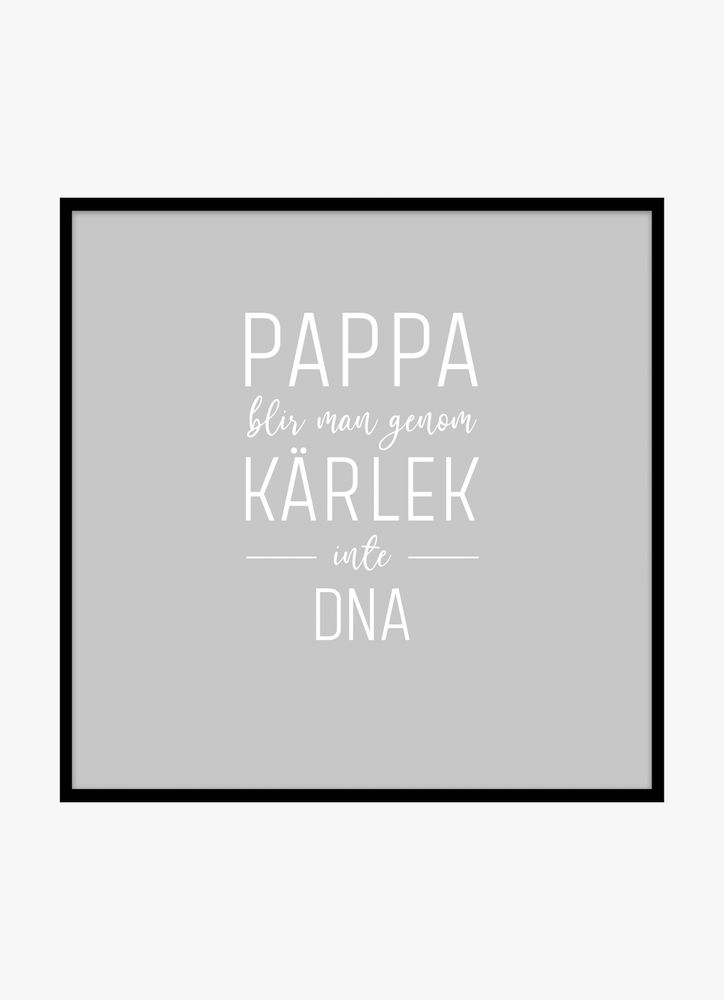 Pappa DNA poster
