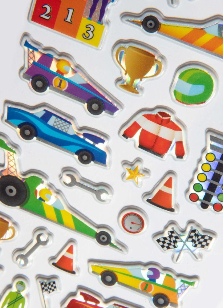 Racing klistermärken