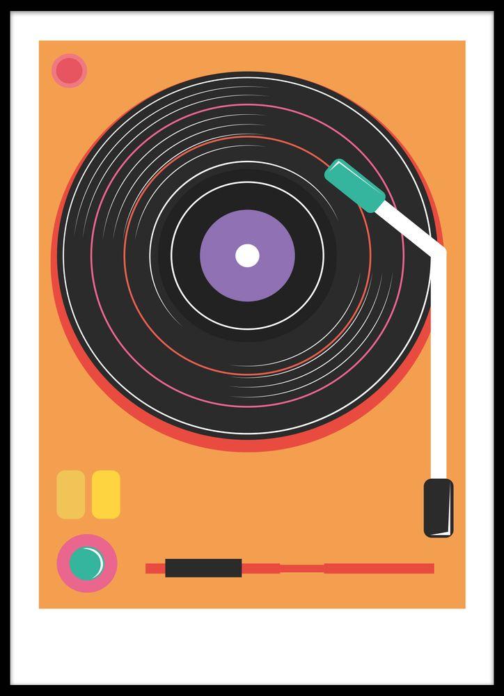 Retro LP poster
