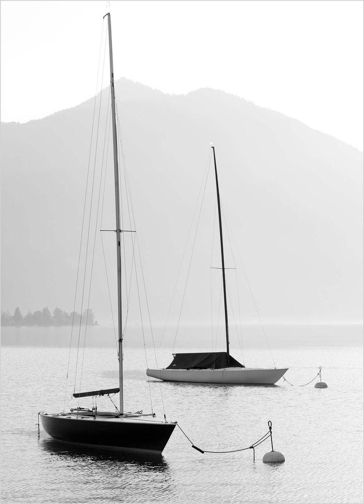 Tavla segelbåt poster