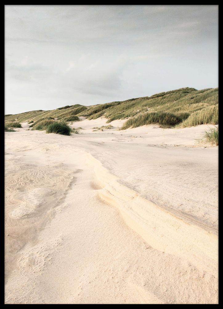 Sand dunes 2 poster