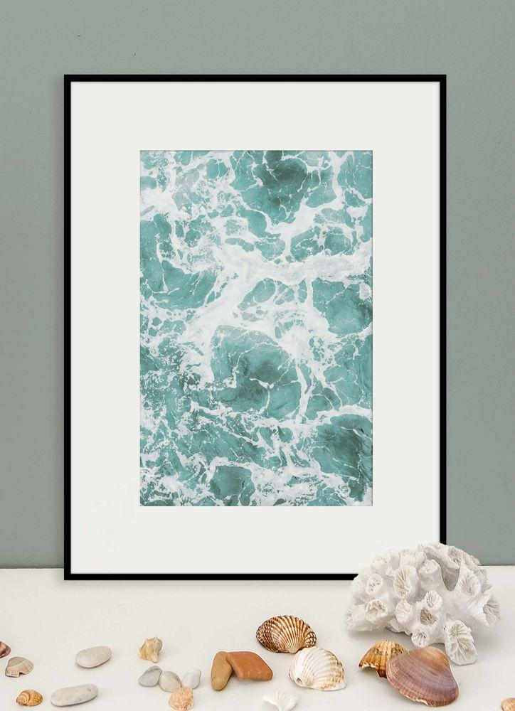 Skummande hav poster