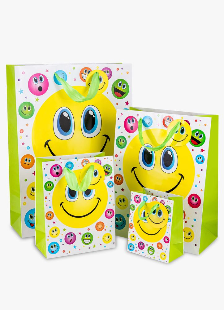 Smiling presentpåse XL