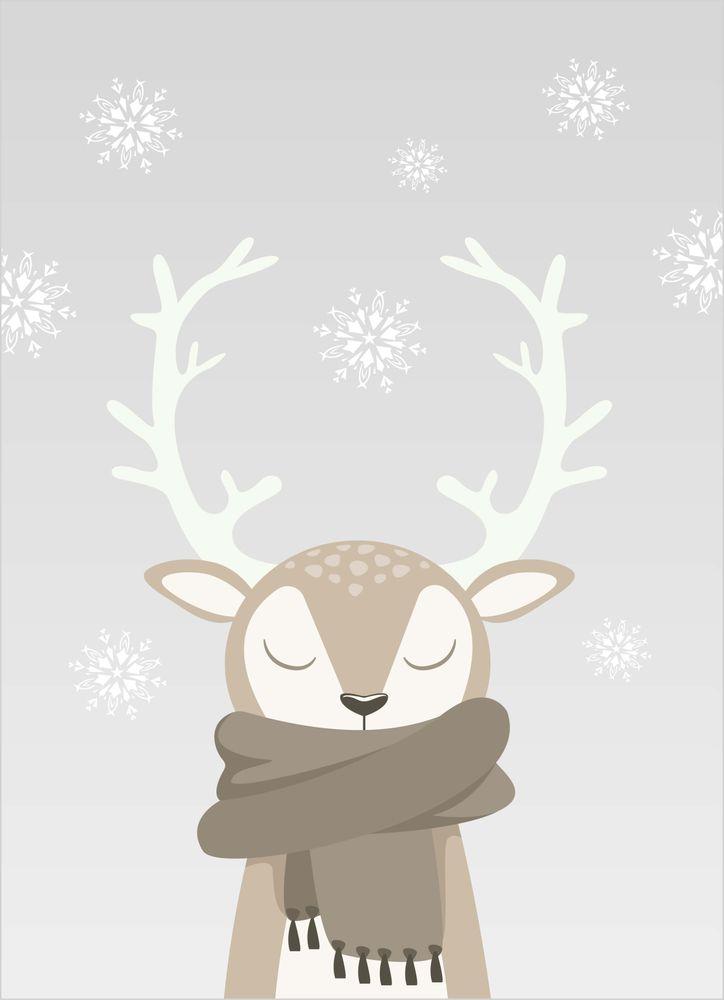 Ren vinter poster
