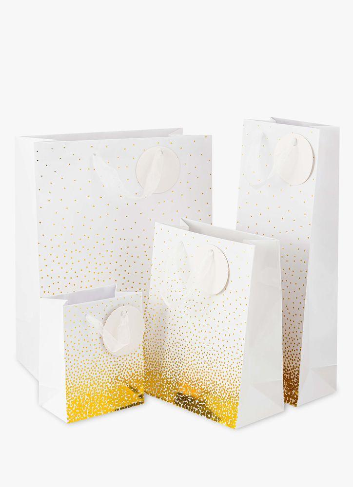 Sparkling Guld presentpåse S