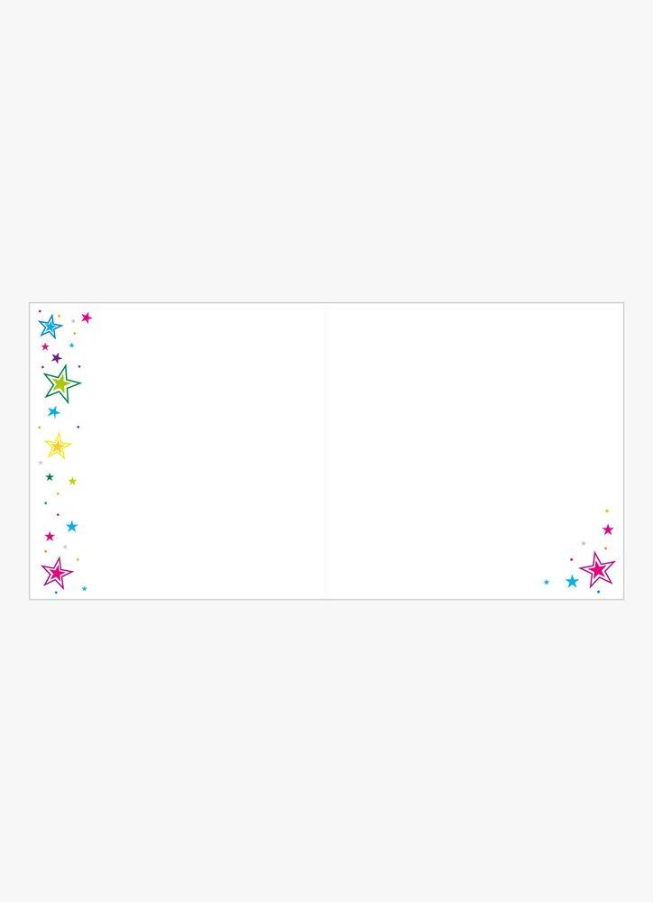 Sparkly B-Day gratulationskort