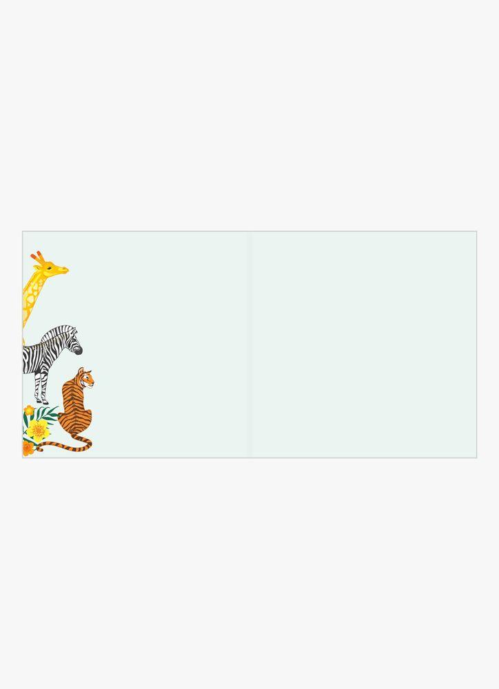 Safari gratulationskort