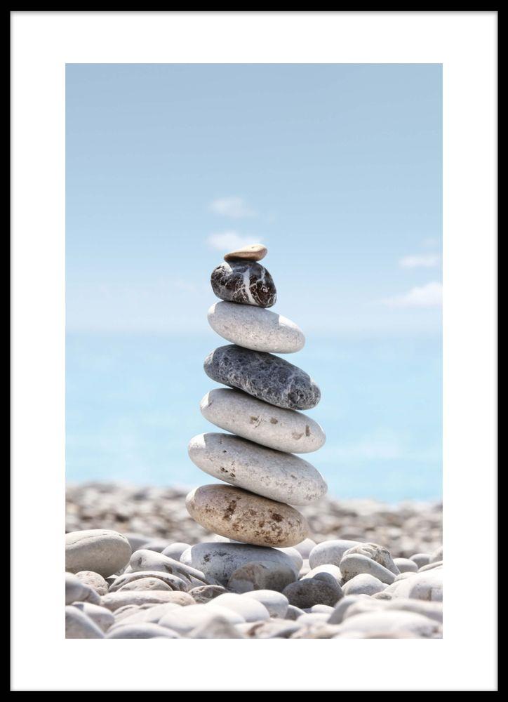 Torn på stenar poster