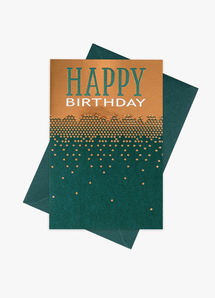 Grafiskt kort Happy Birthday
