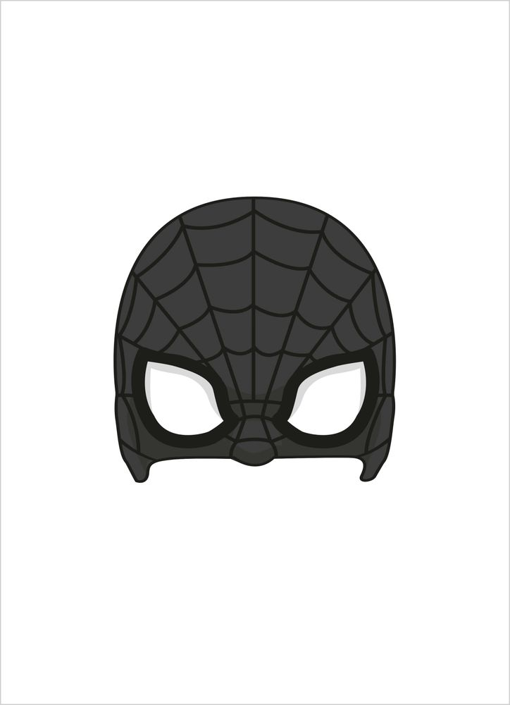 Superhjälte mask 1 poster