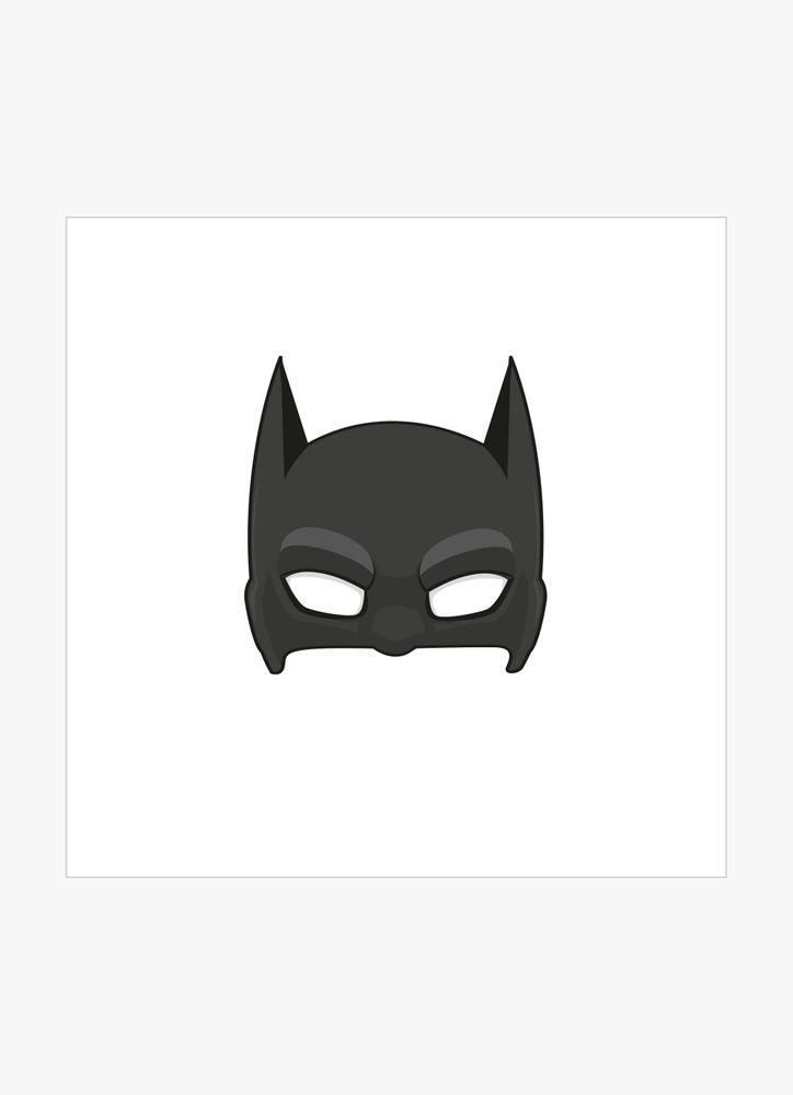 Superhjälte mask 2 poster