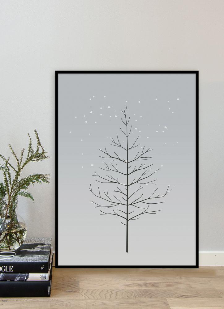 Träd poster