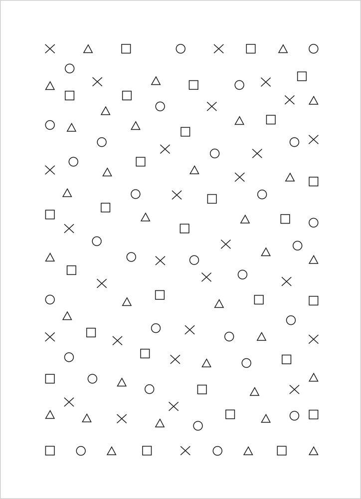 TV-spelsikoner mönster poster