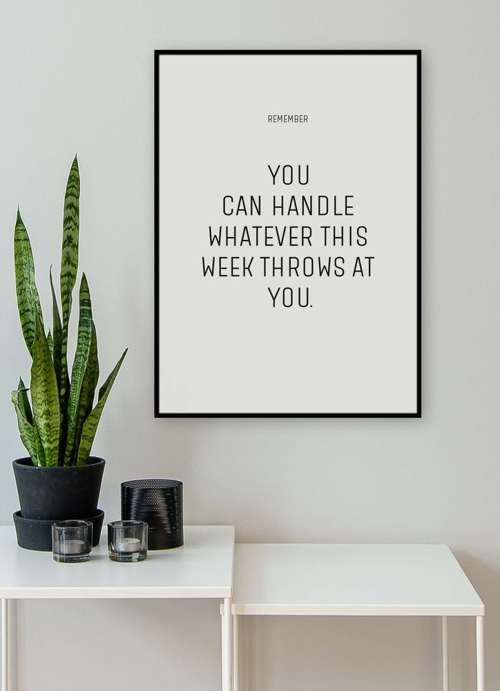 You can handle text poster