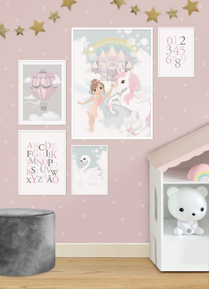 Fairyland gallery wall poster