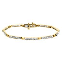 Diamantarmband i 18K guld