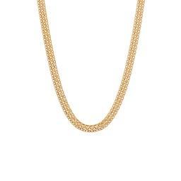 Halsband i 18K guld 45 cm