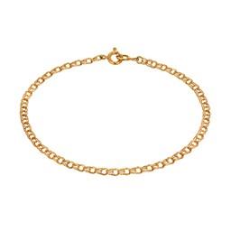 Armband i 18K guld 18,5cm