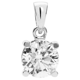 Diamanthänge i platina