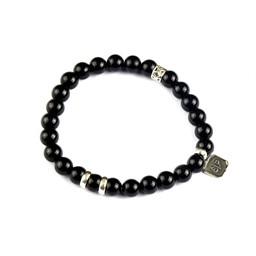 Armband i svart onyx