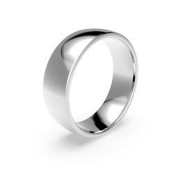Förlovningsring i platina 6mm