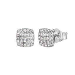 Diamantärhänge i 18K guld