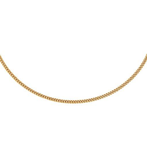 Kedja i 18K guld 70 cm