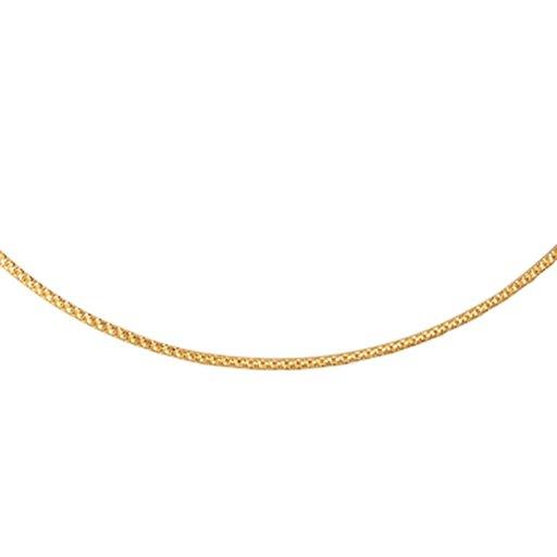 Kedja i 18K guld 45cm